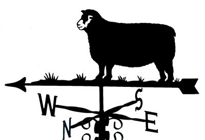 Dorset Sheep weathervane