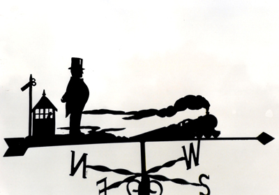 Fat Controller weathervane