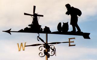 Miller weather vane