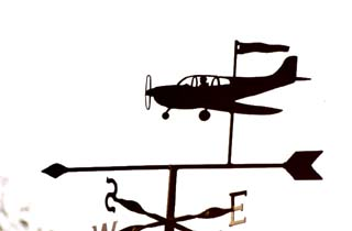 Piper weathervane