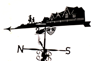 Village School weather vane