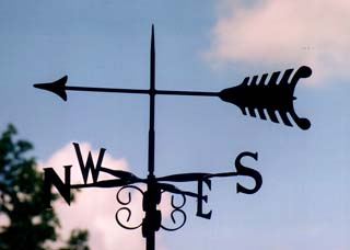Arrow 2 weather vane