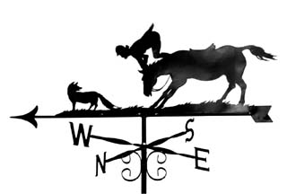Hunts Woman weather vane