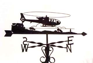 Gazelle weathervane
