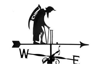Old Father Time weather vane