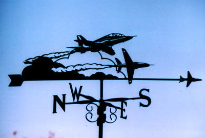 Red Arrows weathervane
