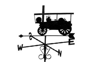 Showmans Engine weather vane