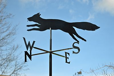Fox p and s weathervane