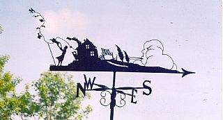 washing day weathervane