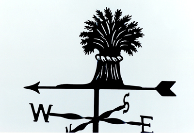 Wheatsheaf weathervane
