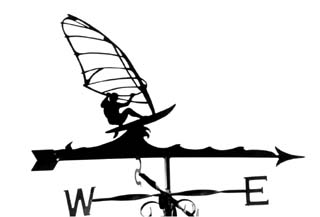 Windsurfer B weather vane