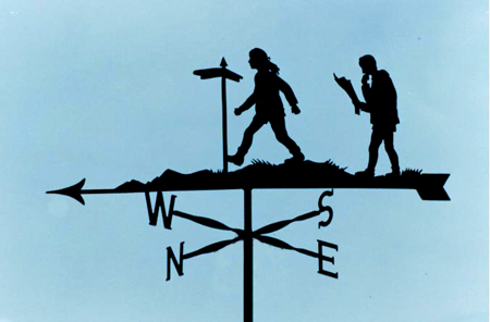 Without Scrolls weathervane